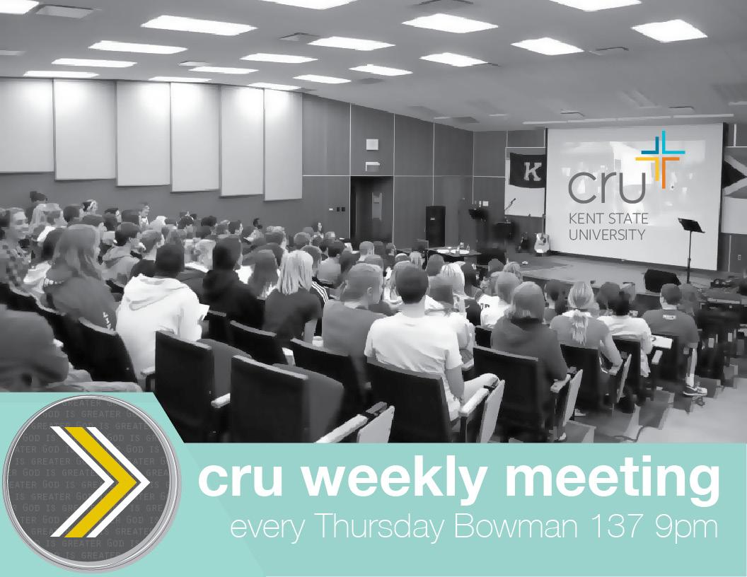Cru weekly meeting